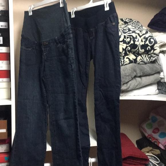 Liz Lange for Target Denim - MMAO 2 pair of maternity Jeans